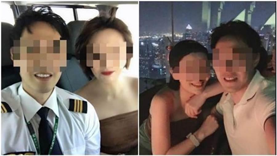 人妻今年五月爆料機師老公偷情網紅空姐,成全離婚後卻挨告求償百萬。(圖/爆料公社)