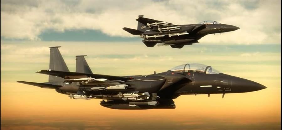 F-15EX,可攜帶20枚飛彈,將是飛彈攜帶量最多的戰機。(圖/波音)