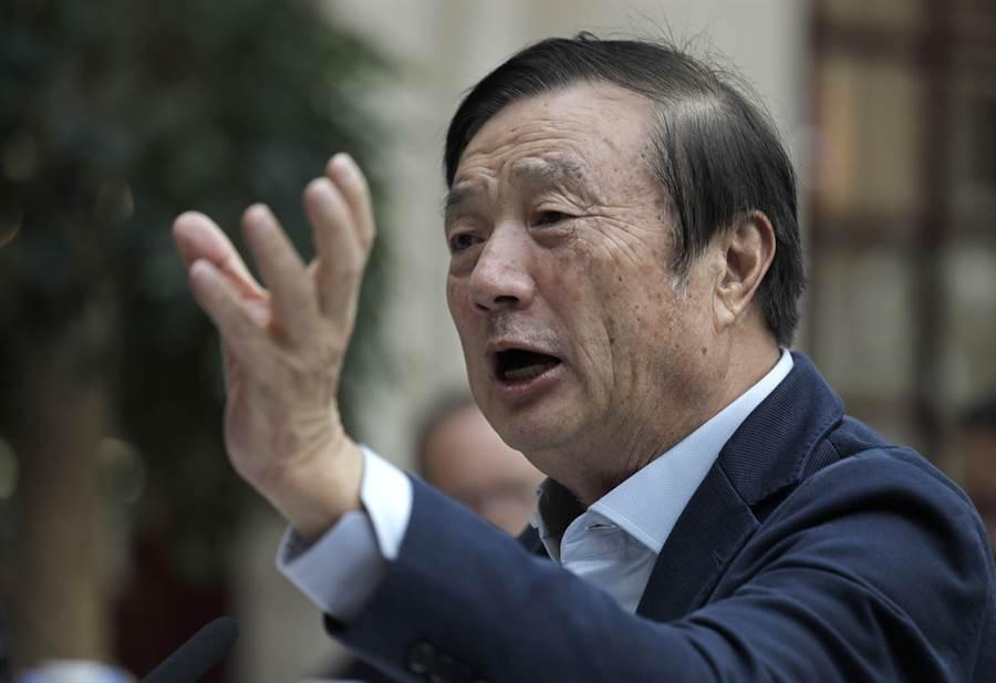 正值5G技術領先全球對手之際,華為總裁任正非表示,華為有意向西方潛在買家出售自家5G技術。(美聯社)