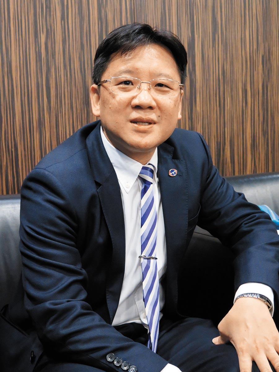今年新上任的台企聯總會長李政宏。(本報資料照片)