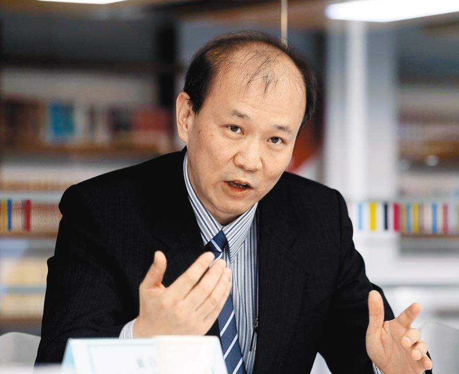 台灣大學政治學系教授張登及。(本報系資料照片)