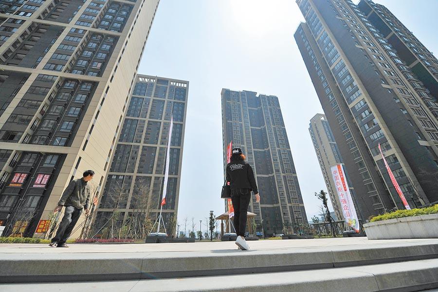 2016年10月15日,福州五城區公積金貸款新政開始調整。圖為福州一新建小區。(中新社資料照片)