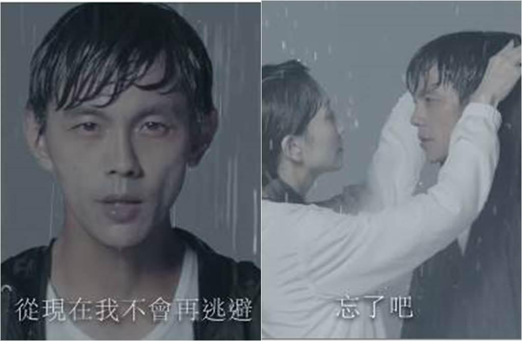 阿翔和妻子挺過婚姻危機,兩人更合體拍廣告。(圖/取材自浩角翔起笑一個 官方粉絲專頁臉書)