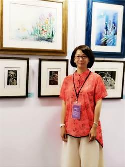 插畫家程子潔參展藝博會 喚醒對藝術的樸質憧憬
