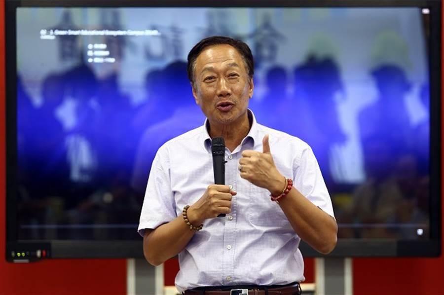 鴻海集團創辦人郭台銘。(本報系資料照)
