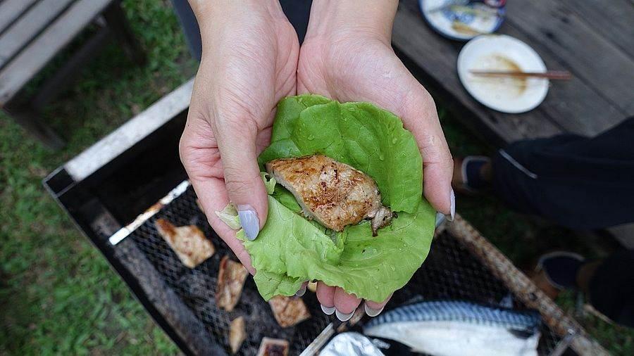 自家鮮採即食讓中秋烤肉更增添趣味。(圖取自新北市景觀處官網)