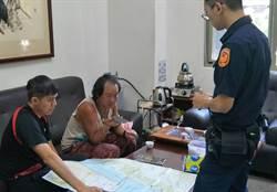 仁愛分局員警熱心協助 韓籍騎士順利登山 感激之情溢於言表