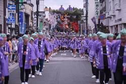 前進盛日本盛岡 花蓮代表團參加山車秋祭慶典
