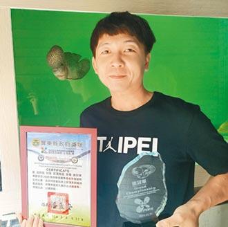 12年經驗 嘉義青年養出冠軍羅漢魚