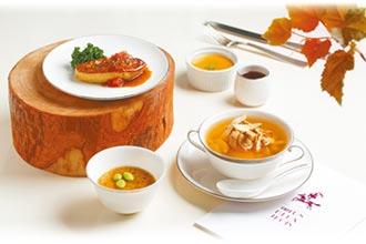 文華Cafe加拿大美食上桌