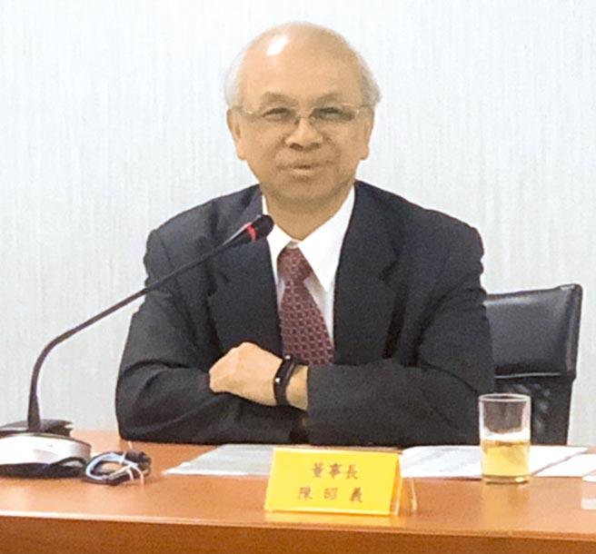 台糖董事長陳昭義回鍋,首重績效,上任全面盤點各事業部計畫必要性。(王玉樹攝)