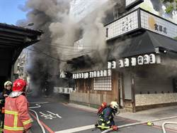 三峽八條壽司驚傳火警 整間店幾乎全毀
