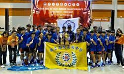 亞洲盃拔河賽 南投高中囊括男女組冠軍揚名國際