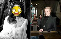 哈利波特「麥教授」年輕是大眼正妹 網友驚呼:比妙麗還正!