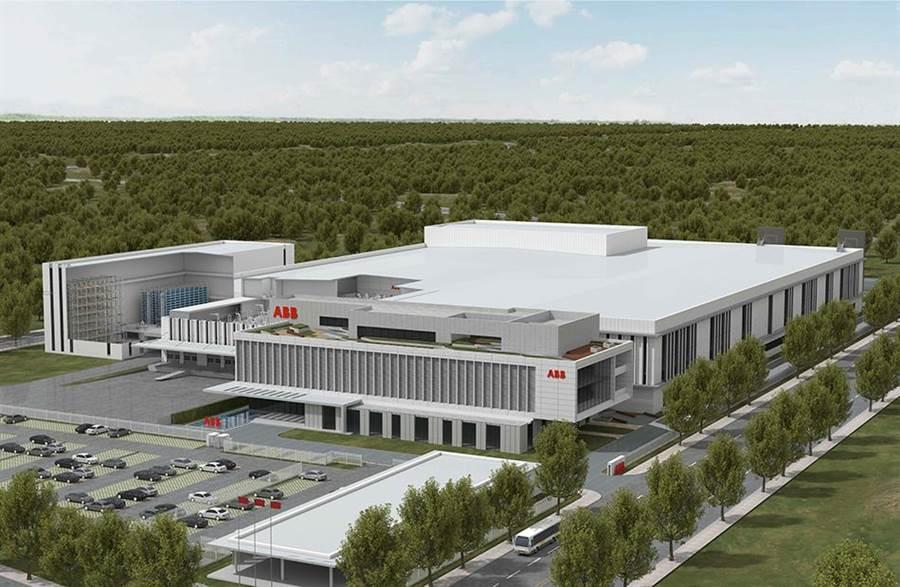 瑞士工業集團ABB上海新廠效果圖。(取自澎湃網)
