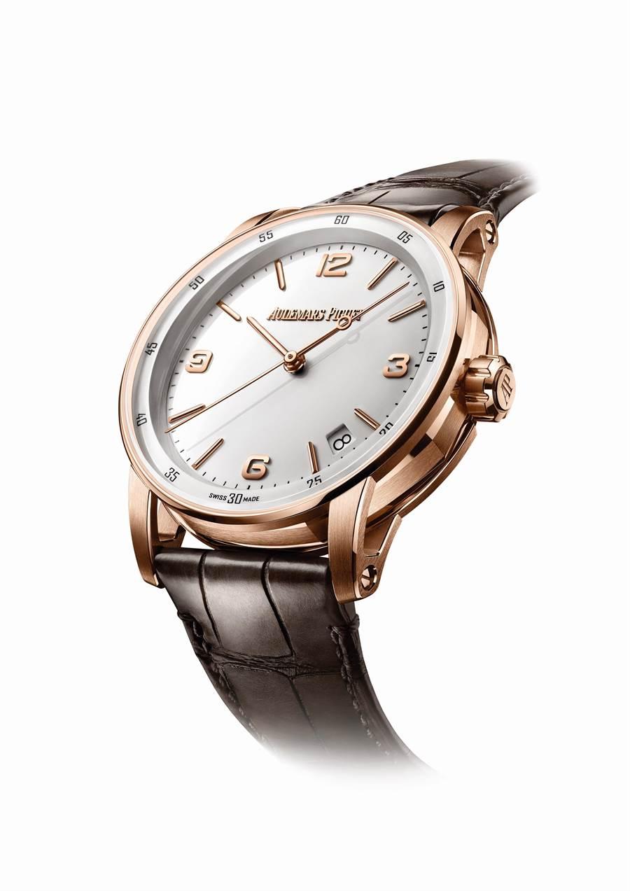愛彼表CODE 11.59系列腕表,85萬8000元。(Audemars Piguet提供)
