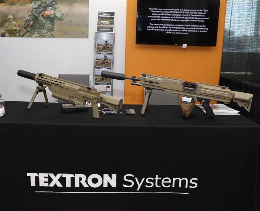 德士隆公布下一代6.8公釐步機槍。(圖/德士隆集團)