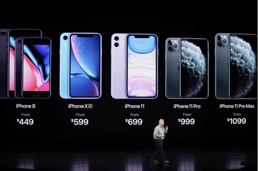 iPhone 11跑分出爐,狠甩所有安卓手機。(圖/美聯社)