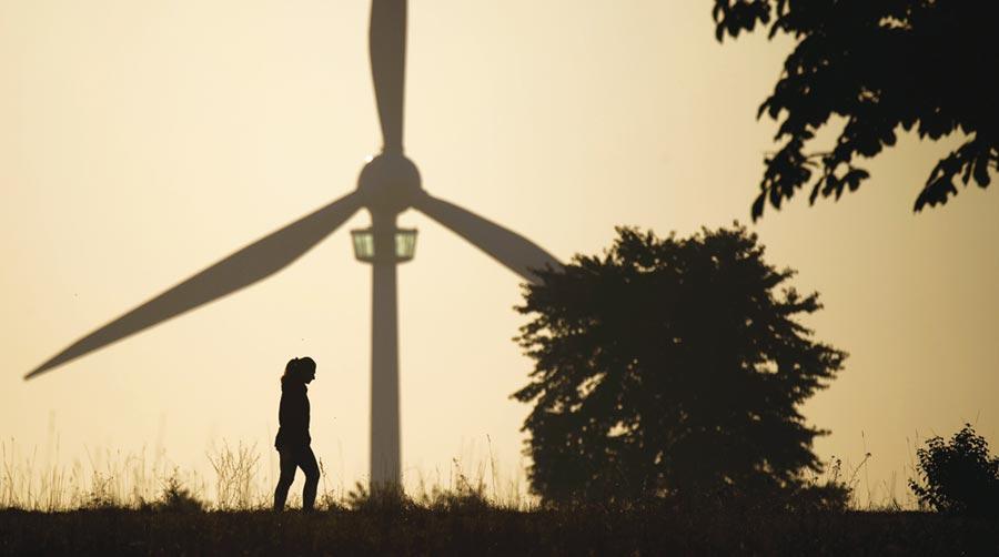 德風力發電擴量卡關    圖╱美聯社
