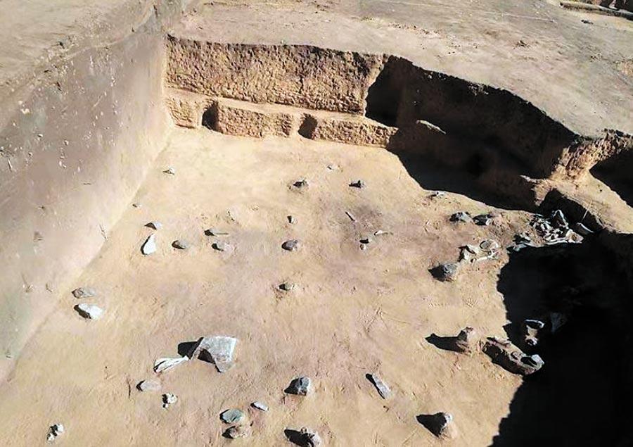 考古人員在內蒙古化德縣發現的史前文化考古遺址,命名為裕民文化。(取自《中國民族報》)
