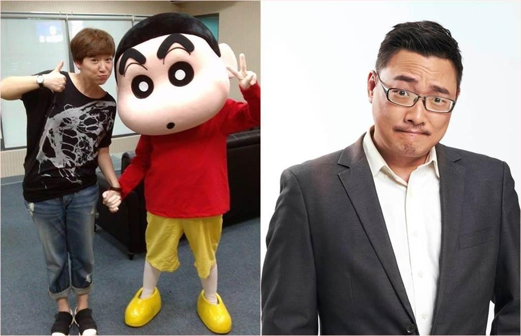 台灣知名配音員蔣篤慧(左)離世,她的配音員好友賈培德痛批第一時間公布死訊的粉專沒有經過家屬同意。(合成圖/翻攝自蔣篤慧、賈培德臉書)