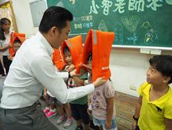 921震災20周年  小智市長化身老師教躲地震3步驟