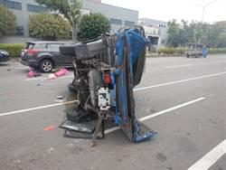 疑疲勞駕駛 男撞車致6傷