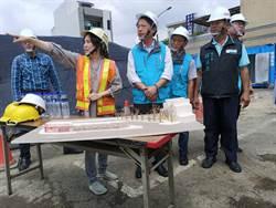 嘉義縣長視察朴子轉運站 預計明年1月完工