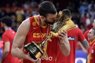 NBA》告別世界盃!西班牙衛冕沒蓋索