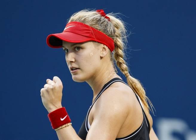 加拿大網球女將布夏。(美聯社資料照)