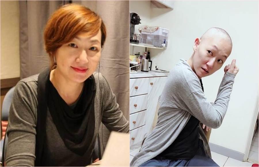配音員蔣篤慧享年49歲。(合成圖/翻攝自蔣篤慧臉書)