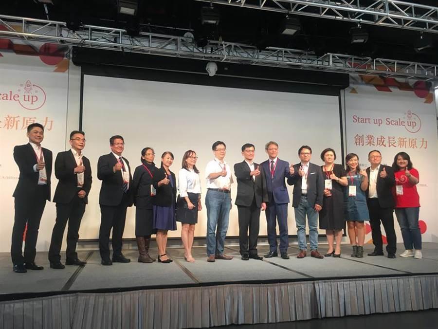 資誠會計師事務所聯合台經院16日發表「2019台灣新創生態圈大調查報告」。(圖:吳泓勳攝)