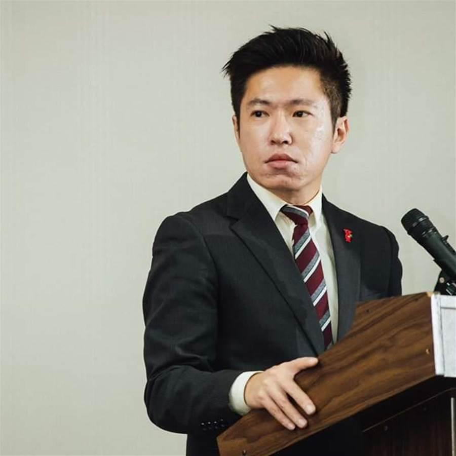 總統府發言人張惇涵。(圖/取自張惇涵臉書)