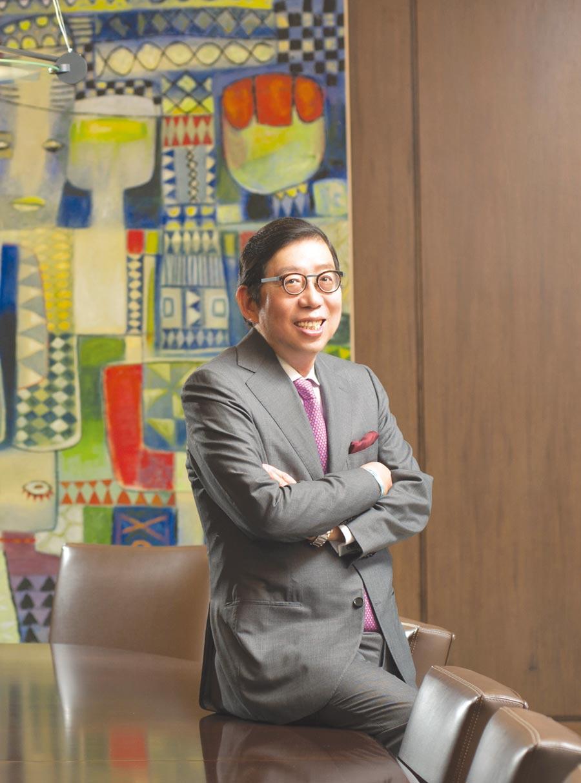 富邦金控董事長蔡明興以公司治理、環境、社會並重,打造富邦金控成為永續金融領導品牌。圖/富邦金控提供