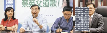 石木欽案 藍委嗆司法院長下台 小英道歉