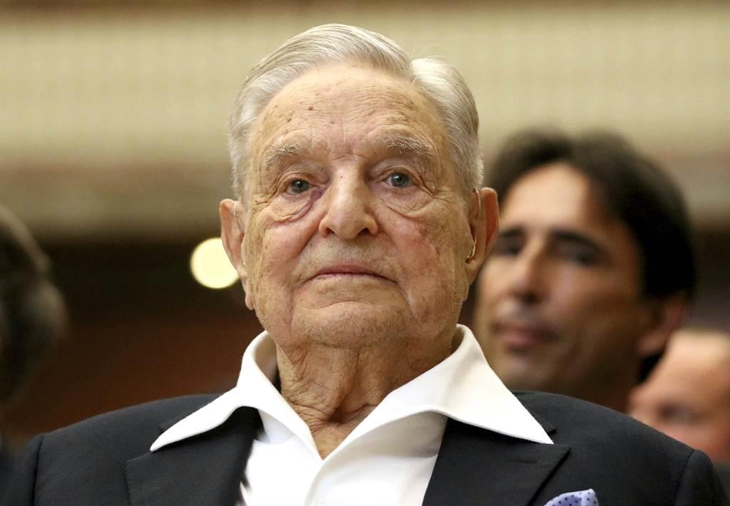 索羅斯日前曾於美媒刊文表示,他「對打敗當下中國的興趣超過了對美國國家利益的關心。」(圖/美聯社)