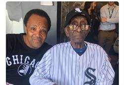 MLB》百年的心願 白襪112歲球迷現身