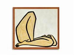 常玉最大尺幅裸女油畫上拍場 估價近6億