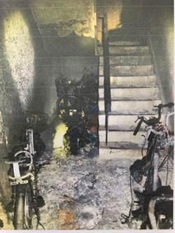 縱火燒燬6機車害少女送醫 男公共危險罪起訴