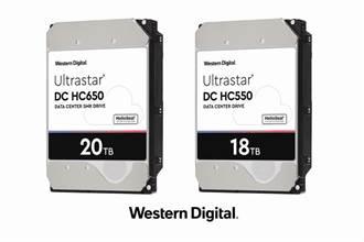 Western Digital 2020上半年將推出18TB CMR與20TB SMR硬碟