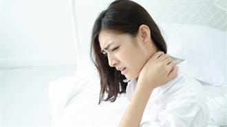 落枕痛了好麻煩!中醫師公開2招預防