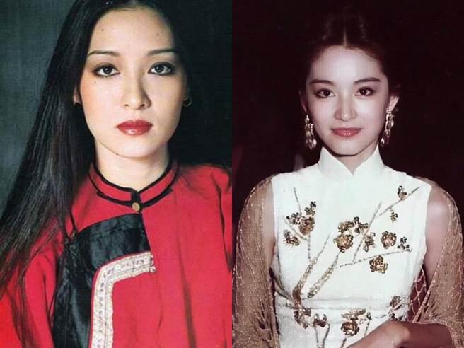 胡因夢和林青霞是傳奇美女。(圖/微博)