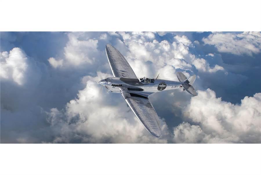 二戰英國皇家空軍傳奇噴火式戰機即將飛抵台灣訪問。(翻攝Siverspitfire官網)