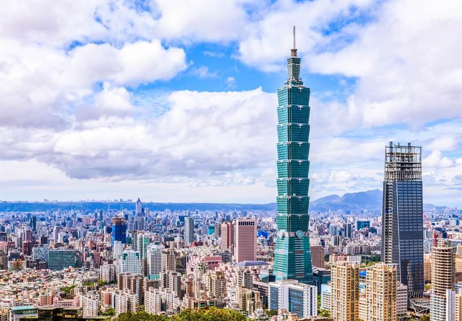 台北101是台灣重要地標,目前為世界第12高樓(圖/達志影像)
