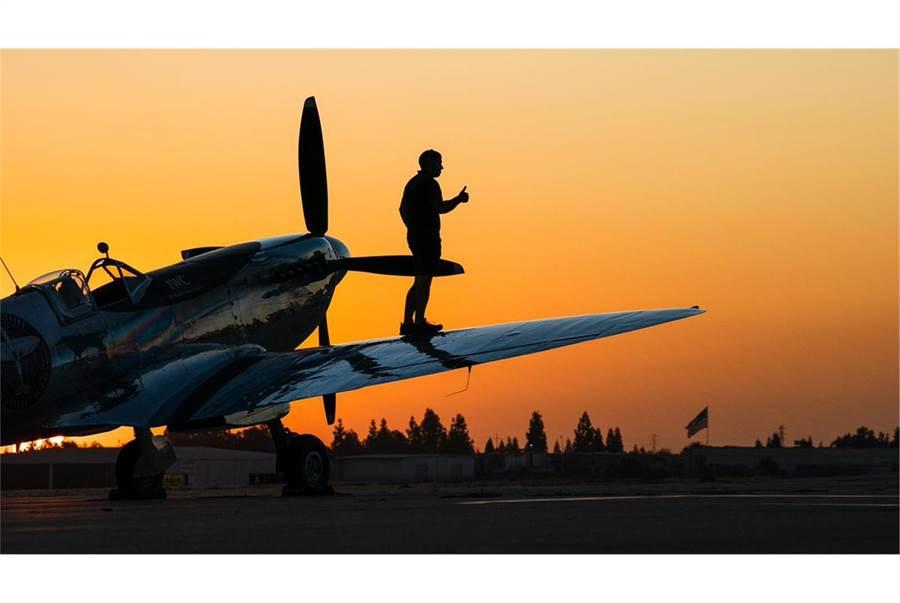 噴火式戰機的設計被視為航空史上最美的二戰戰機。(翻攝silverspitfire推特)