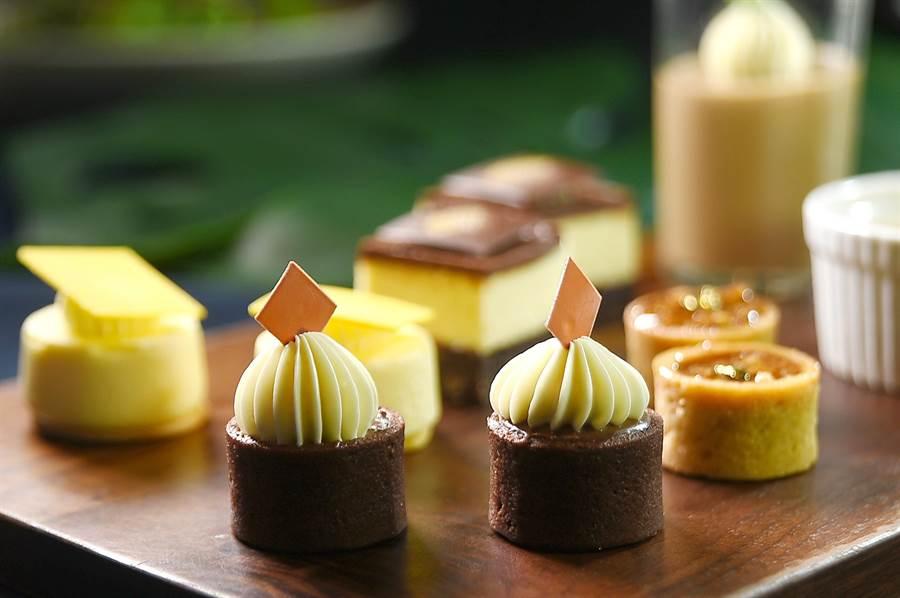 文華東方酒店〈文華Cafe'〉舉辦〈加拿大美食節〉,可以嘗到用加拿大楓糖作的各式甜點。(圖/姚舜)