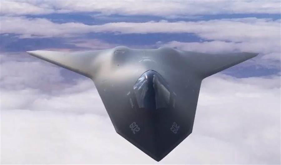 美國空軍在「科技2030」影片中,透露了第6代戰機可能的模樣。(美國空軍)