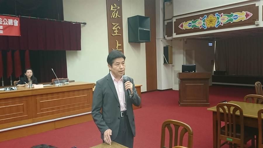 文化大學國家發展與中國大陸研究所教授龐建國。(李侑珊攝)