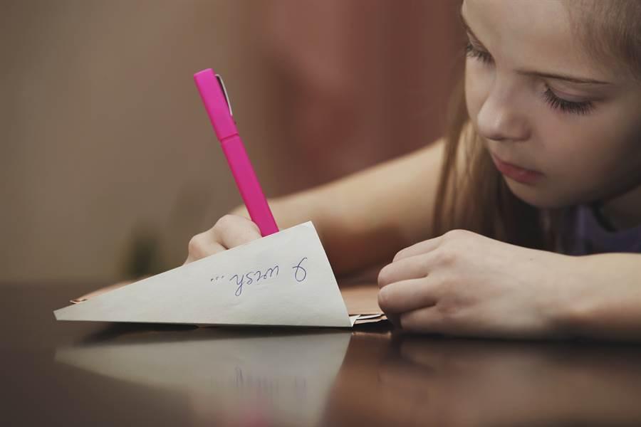 童寫信給過世6年父 離奇收到回信(示意圖非當事人/達志影像)