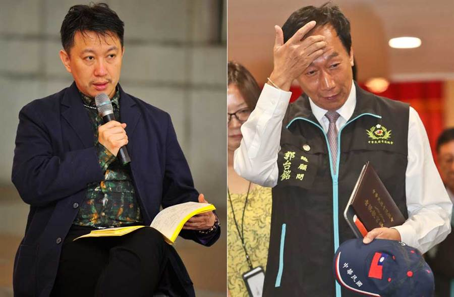 郭台銘宣布不選總統,王尚智表示想看三方撕咬的期待落空。(中時資料照片)